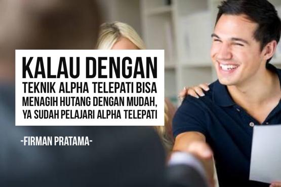 alpha-telepati-untuk-hutang